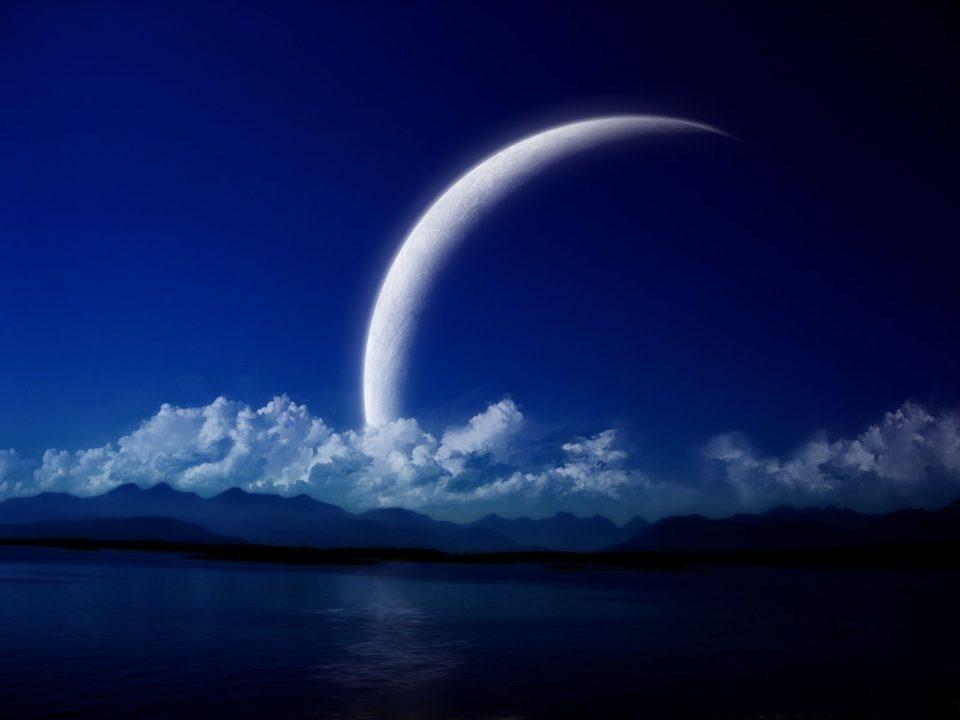 Луна растет или убывает
